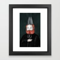 Encarnación: Verbo Divi… Framed Art Print