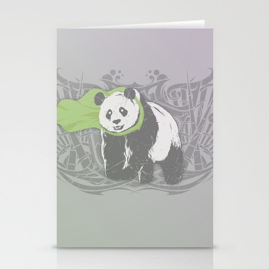Fearless Creature: Bam Stationery Card