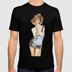 Ruby SMALL Black Mens Fitted Tee