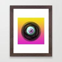 GUILLOHE EYE Framed Art Print