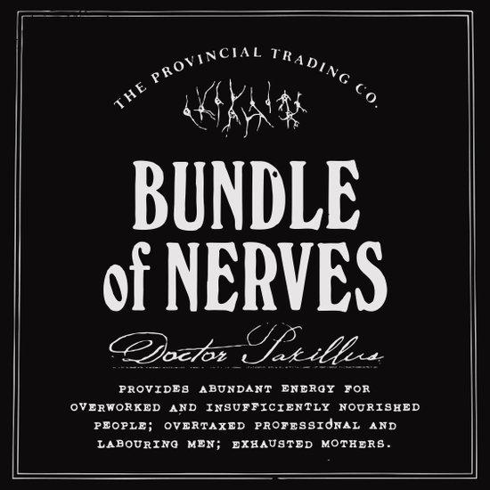 Bundle of Nerves Art Print
