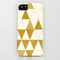 iPhone 5s & iPhone 5 Cases featuring My Favorite Shape by Krissy Diggs