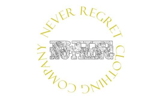 Rue Nothing Block and Circle Logo Art Print