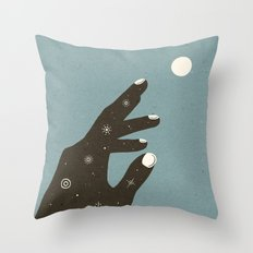 Dead Stars In Our Hands Throw Pillow