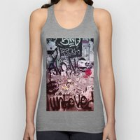 Writing's on the Wall Unisex Tank Top