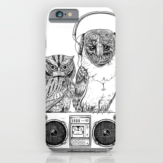 Silent Night ANALOG zine iPhone & iPod Case