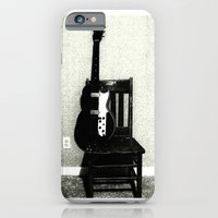 This Chair and Guitar Weren't Always So Lonely iPhone 6 Slim Case