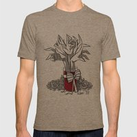 BOUQUET Mens Fitted Tee Tri-Coffee SMALL
