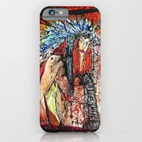 iPhone & iPod Case featuring Warrior by Time To Fight Studio