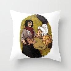 A Nap on Titan Throw Pillow
