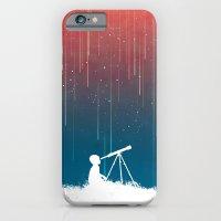 Meteor Rain (light version) iPhone 6 Slim Case