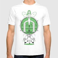 A Legend Of Leafs Mens Fitted Tee White SMALL