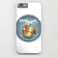 One Apple A Day iPhone 6 Slim Case