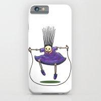 Jumprope Girl iPhone 6 Slim Case