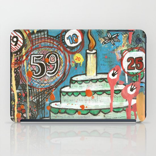 I Love Cake!  iPad Case
