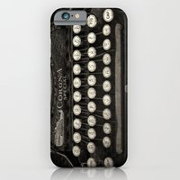 iPhone & iPod Case featuring Old Typewriter Keyboard by David Turner
