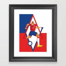 AV23   La Roja Framed Art Print
