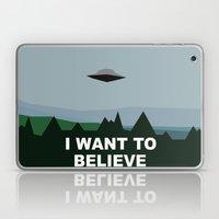 I Want To Believe Minima… Laptop & iPad Skin