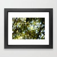 blur of life Framed Art Print