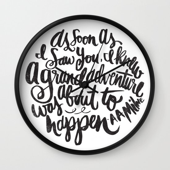grand adventure Wall Clock