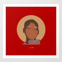 St. Tamir Art Print