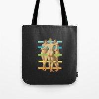 Les Trois Graces Tote Bag