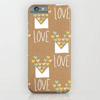 iPhone & iPod Case featuring Love Letter by Leanne Oughton
