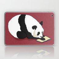 Reading Panda Laptop & iPad Skin