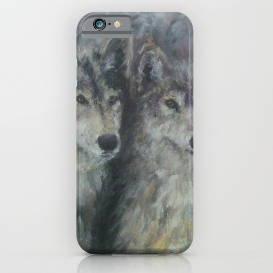 Wolf Couple iPhone & iPod Case