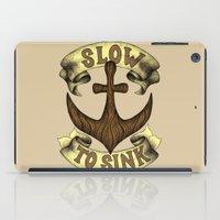 Slow To Sink iPad Case