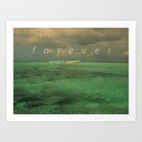 When I Fall In Love.... Art Print