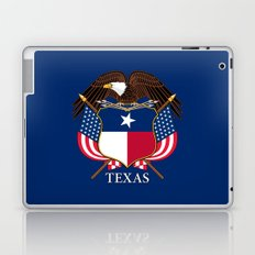 Texas flag and eagle crest - original concept and design by BruceStanfieldArtist Laptop & iPad Skin