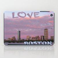 Love Boston iPad Case
