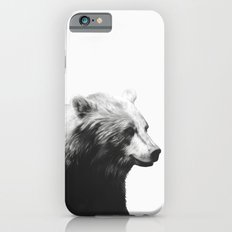 Bear // Calm (Black + White) iPhone 6 Slim Case