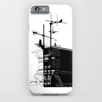 iPhone & iPod Case featuring French rooftops by Dawn Dudek