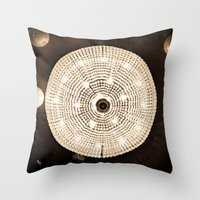 Party Lights Throw Pillow