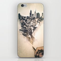 City up in smoke iPhone & iPod Skin