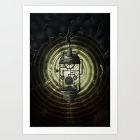 Steam Machine Art Print