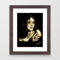 Marion Cotillard Framed Art Print