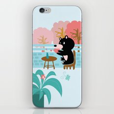 Drink a cup of coffee iPhone & iPod Skin