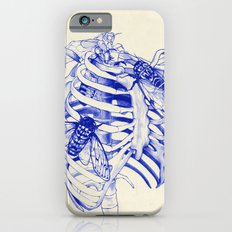 collarbone blue iPhone 6s Slim Case