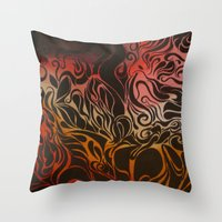 Petrol Throw Pillow