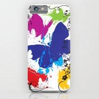 Painted Butterflies iPhone 6 Slim Case