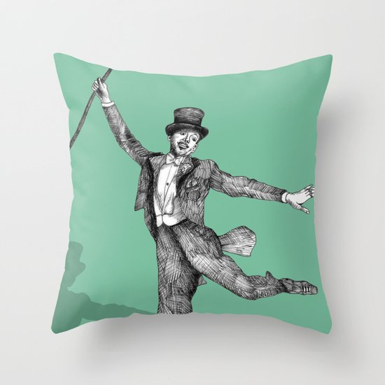 Fred Astaire Throw Pillow