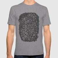 Spiral Mens Fitted Tee Athletic Grey SMALL