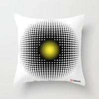 PULSATIONS Throw Pillow