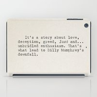 It's A Story About... iPad Case