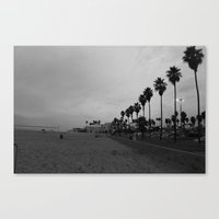 Bare Beach Canvas Print