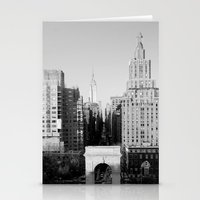 Washington Square Park Stationery Cards