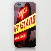 iPhone & iPod Case featuring Small Town Coney Island by Nevermind the Camera